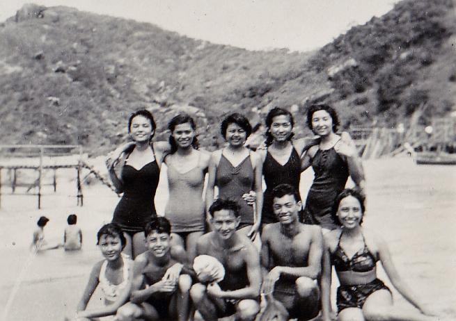 SwimmersColoane