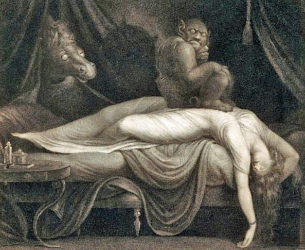 Nightmare engraving Thomas Burke